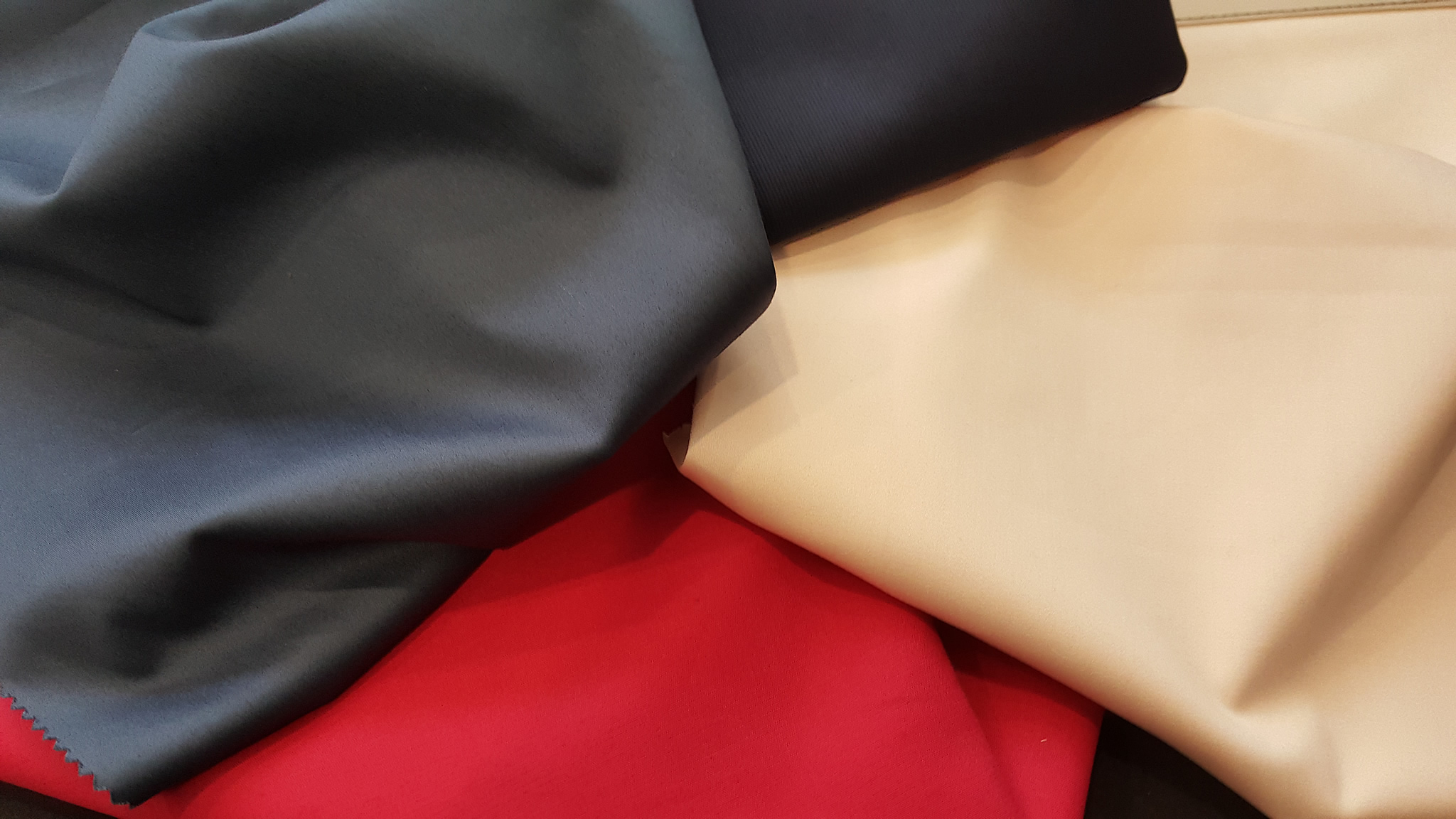 Premium Quality 2Ply-3Ply Cotton & Cotton Stretch piece dyed fabrics woven from US PIMA and GIZA yarns