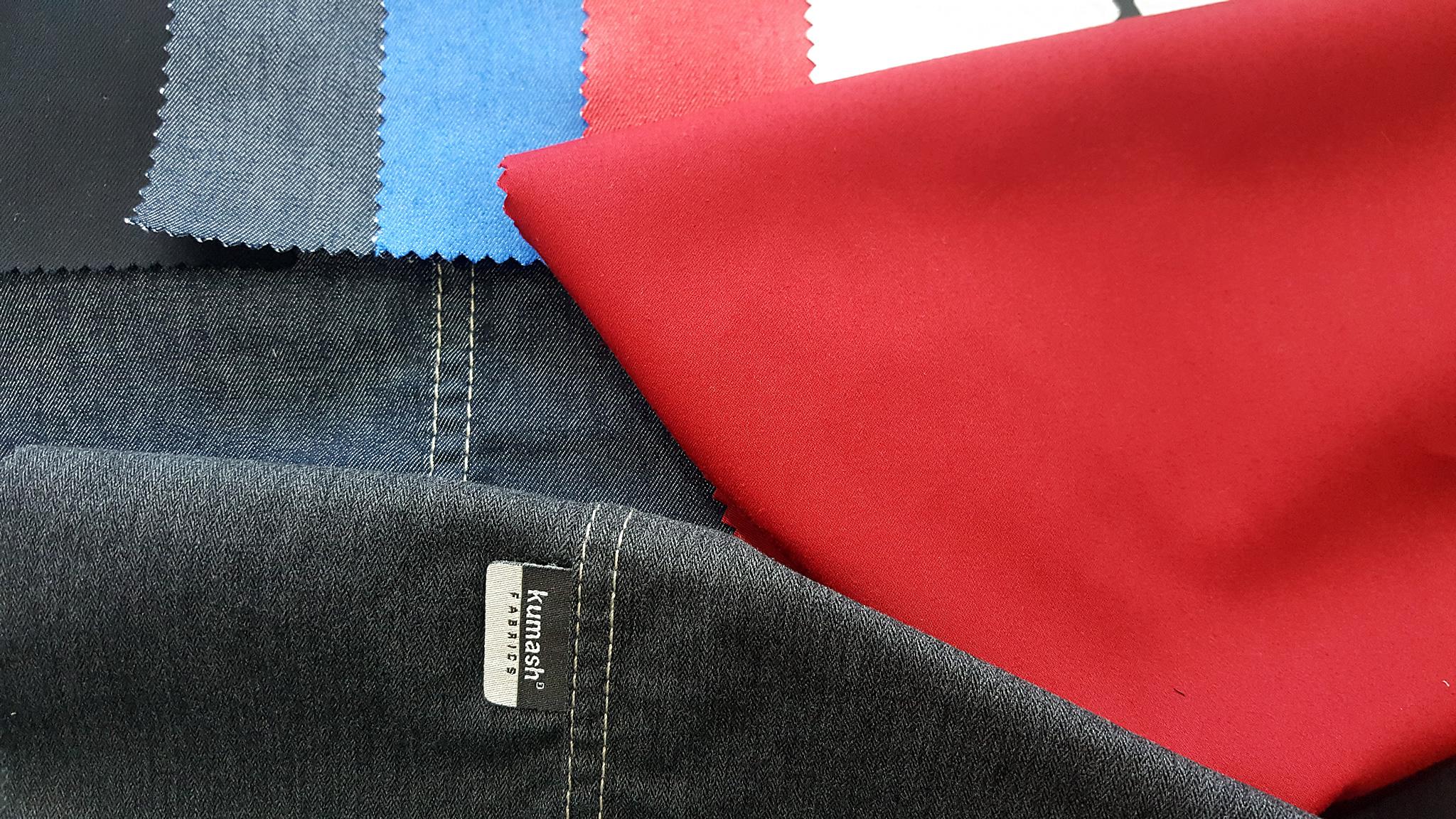 Pamuk-Naylon & Pamuk-Polyester karışımlı Mono Stretch, Bi-Stretch ve Power Stretch kumaşlar